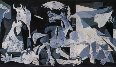 "Inspiration Image- ""Guernica"" by Pablo Picasso (Blood Wedding)"